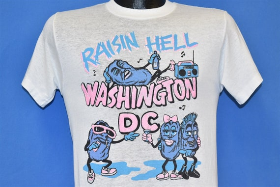 80s Raisin Hell Washington DC California Raisins F