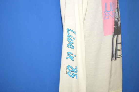 80 s Julian Lennon Valotte Valotte Valotte vivent dans 85 Tour t-shirt Medium bb8046
