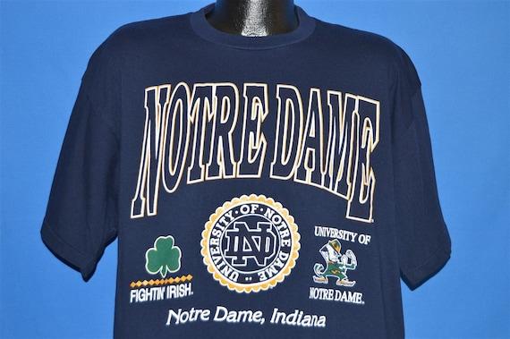 90s Notre Dame Fighting Irish Indiana t shirt Large