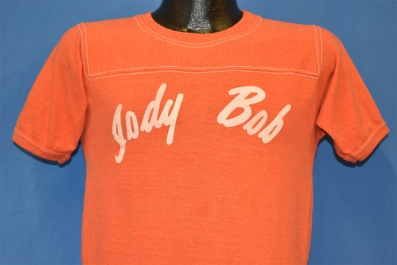 70s Jody Bob Felt Iron On Jersey t-shirt Small