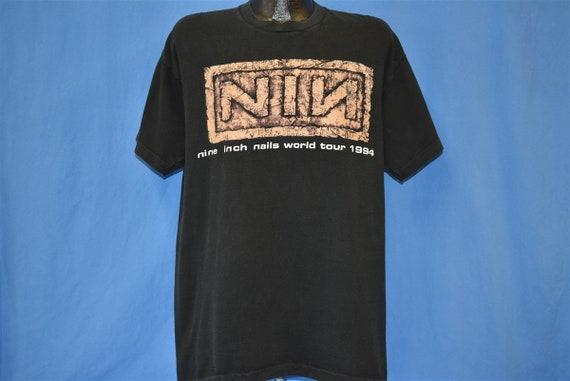 90s Nine Inch Nails Self Destruct Tour Downward S… - image 2