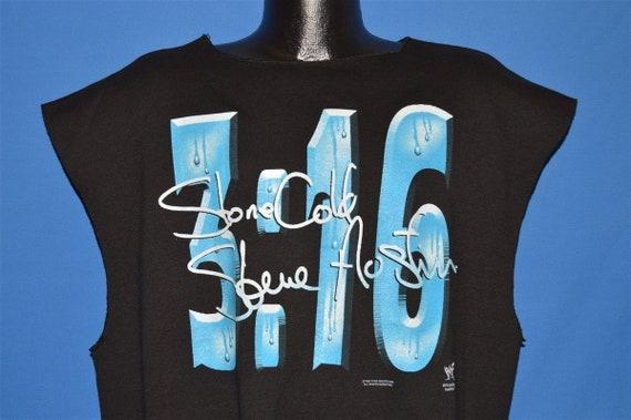90s WWF Stone Cold Steve Austin Sleeveless Sweatsh