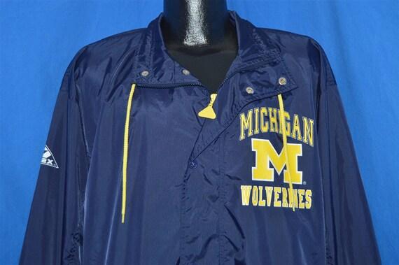 90s Michigan Wolverines Apex One Windbreaker Jacke