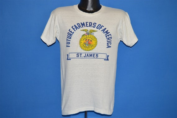 50s Future Farmers of America St. James t-shirt S… - image 2