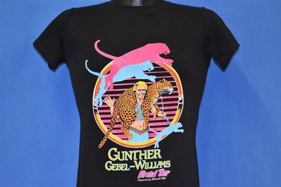 80s Gunther Gebel Williams Tour Ringling Barnum Ci