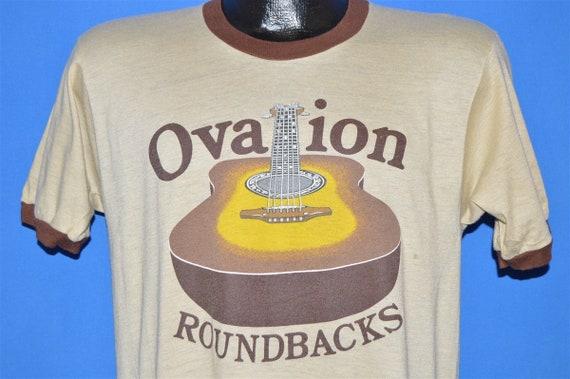 70s Ovation Roundback Guitar Ringer t-shirt Extra