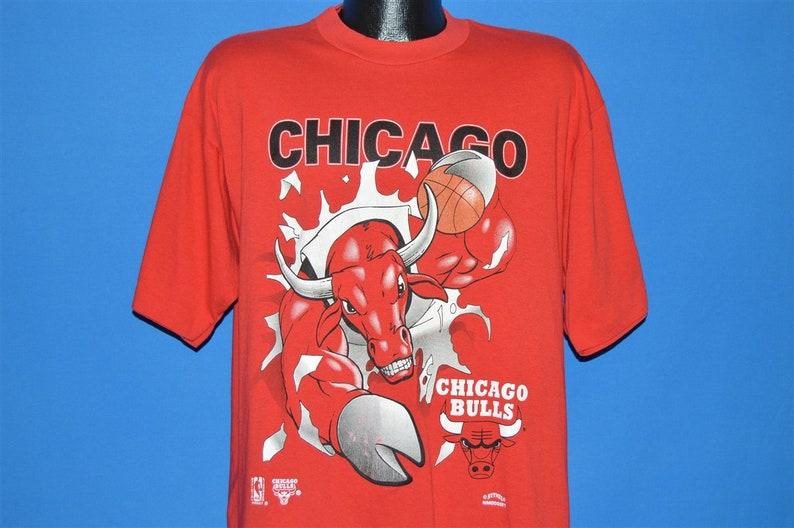 90s Chicago Bulls Slam Dunk t-shirt Extra Large