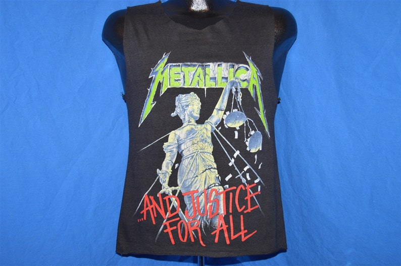 69e6355dee581 80s Metallica And Justice For All 89 Tour Tank Top t-shirt