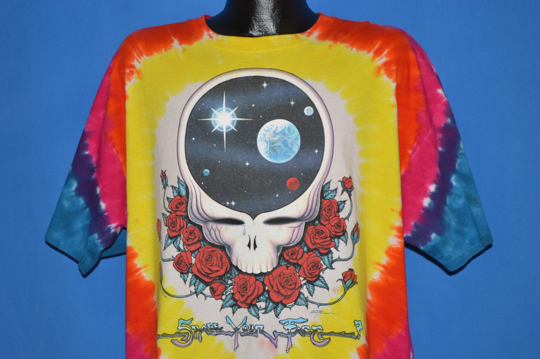 90 s grateful votre Dead Space votre grateful visage t-shirt Extra Large 05ffaf