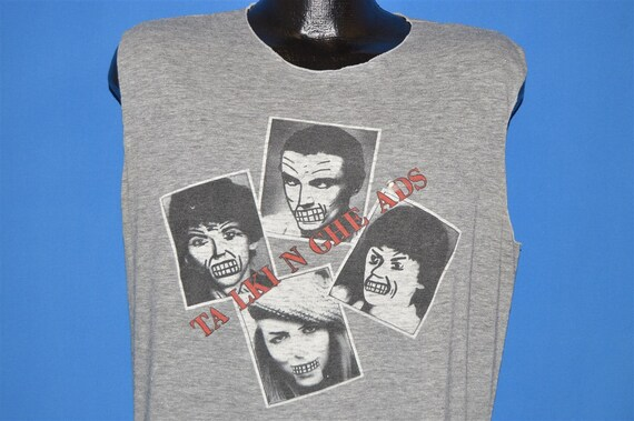 80s Talking Heads Speaking in Tongues Sleeveless t