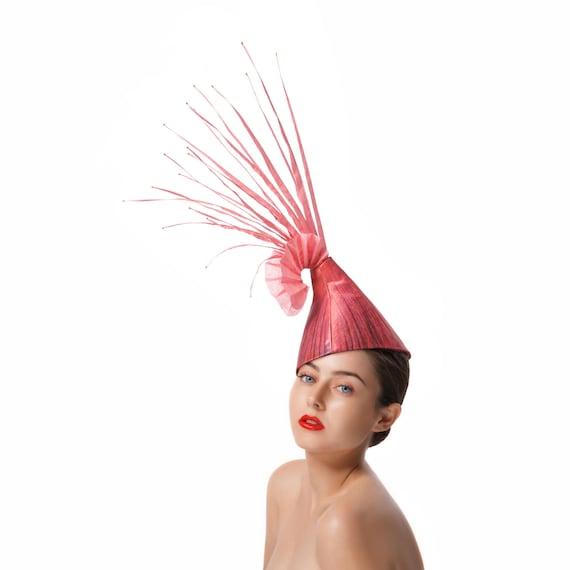 Amazon.com - DIYthinker Red Abstract Christmas Hat Origami Desktop ... | 570x570