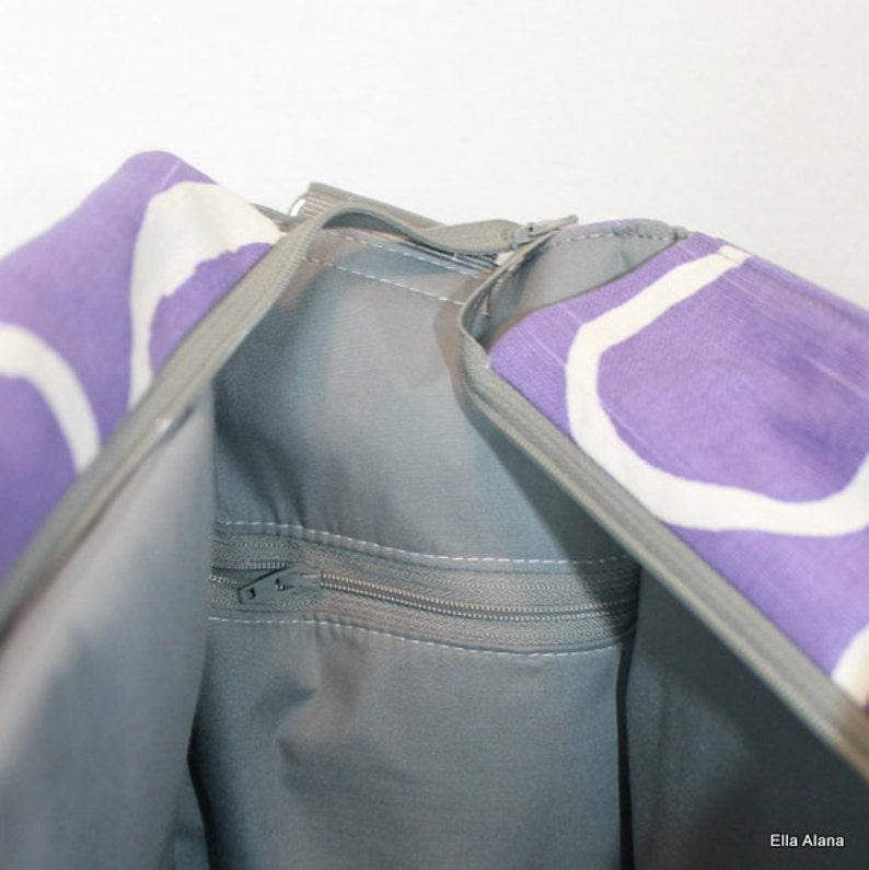 Zipper interior side pocket for Ella Alana Bags