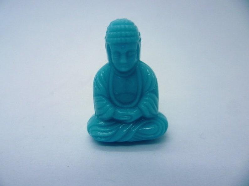 25x18 Buddha Bead turqoise
