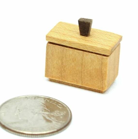 Maison de Poupées Miniature petite échelle 3 horloges de parquet 1//48th
