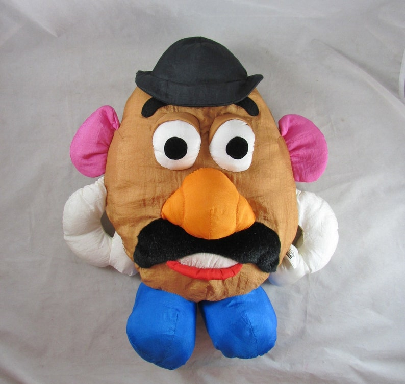Mr Potato Head Toy Story Nylon Puffalump Disney Hasbro Play By Play 17 Vintage Mid 1990s