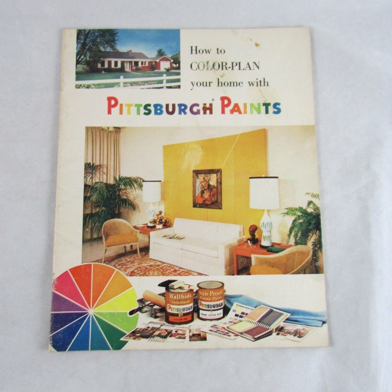 1960s Decorator Magazine How To Color Plan Your Home