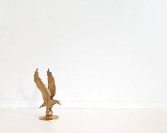 Vintage Brass Flying Eagle