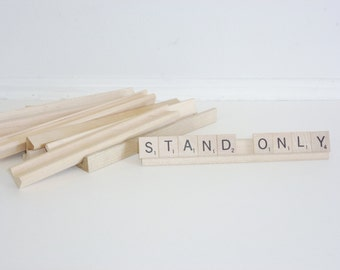 Scrabble Game Letter Stands