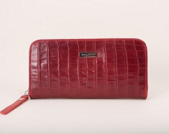 39b330ac54 Leather wallet women