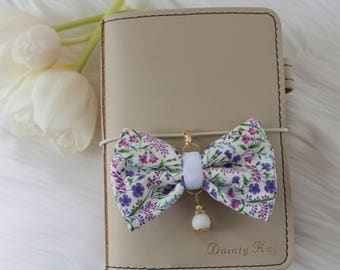 Dainty Planner Charm in Lilac Forest