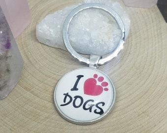 Car Accessories Dog Lover Gift, Dog Mom Keychain, Dog Keychain, Dog Mom Photo Keychain, Photo Keychain, Dog Mom Key Ring