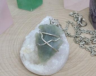 Jasper Arrowhead Necklace, Wire Wrapped Arrowhead Necklace, Jasper Stone Arrowhead Pendant, Jasper Arrowhead Mens Necklace, Jasper Jewelry