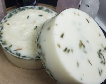 Lavender Goat Milk Soap, Lavender Sponge Soap, Essential Oil Soap, Lavender Loofah Sponge Soap, Lavender Essential Oil Milk Soap