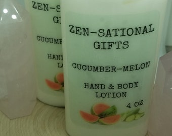 Cucumber Melon Hand Lotion, Cucumber Melon Body Lotion, Shea Butter Lotion, Cucumber Melon Homemade Lotion,Dry Skin Care,Dry Skin Body Cream