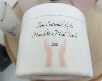 Nail Cuticle Sugar Scrub, Manicure Hand Scrub, Aloe Vera Scrub,Cuticle Oil Hand Scrub,Essential Oil Scrub,Tea Tree Oil Foot Scrub, Manicure