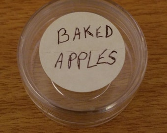 BAKED APPLES Travel Sample Body LOTION, essential oils Apples skincare, Travel Gifts Apple Body Butter, Apple Essential Oils Lotion