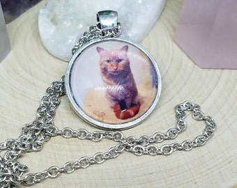 Custom Personalized Pet Photo Memorial Jewelry, Custom Pet Memorial Photo Gifts,Custom Cat Dog Memorial Photo Necklace,Custom Pet Loss Gifts