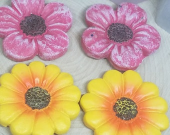 Flower Magnet Sets, Flower Magnet, Flower Refrigerator Magnets, Flower Fridge Magnet, Flower Kitchen Decor, Cute Magnets, Dishwasher Magnet