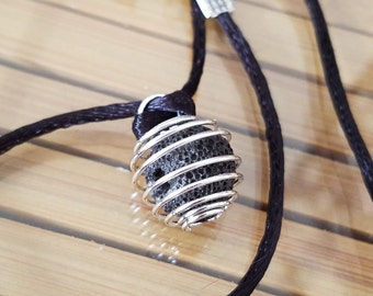 Aromatherapy DIFFUSER NECKLACE, Lava Stone Diffuser Necklace, Essential Oils Diffuser Necklace, Everyday Necklace For Women, Reiki Healing