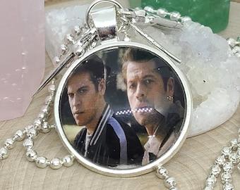 Supernatural Photo Necklace, Supernatural Pendant Necklace, Supernatural Angel Necklace, Supernatural Jack Castiel Photo Pendant