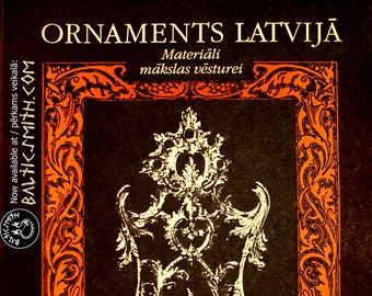 Ornaments Latvijā (Ornament in Latvia)888. design. art history