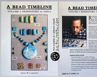A Bead Timeline by James. W. Lankton. SCA. Historical Reenactment. Living History.
