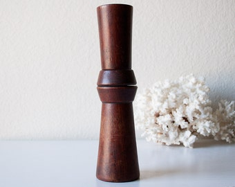 Vintage Danish wood peppermill mid century pepper grinder rare wooden Quistgaard design bow tie pepper mill salt shaker
