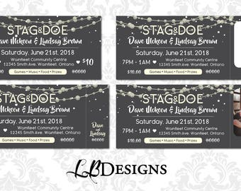 stag tickets etsy