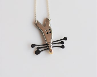 """Silver Necklace """"Nanuk The Rescue Dog"""""""