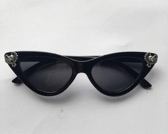 Gargoyle cat-eye sunglasses