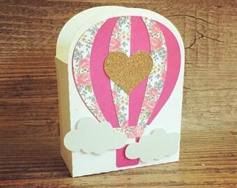 Air Balloon Gift Box Etsy
