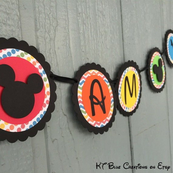 Mickey Mouse Clubhouse Highchair Banner