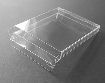 Clear envelopes etsy a2 clear plastic greeting card boxes set of 25 4 12 x 5 78 choice of six different depths m4hsunfo