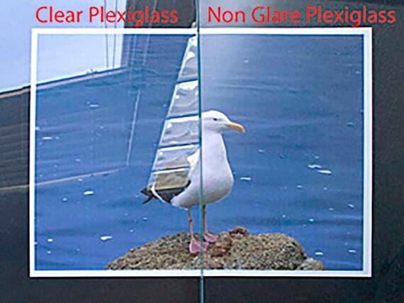 Non Glare Plexiglass For Picture Frames Etsy