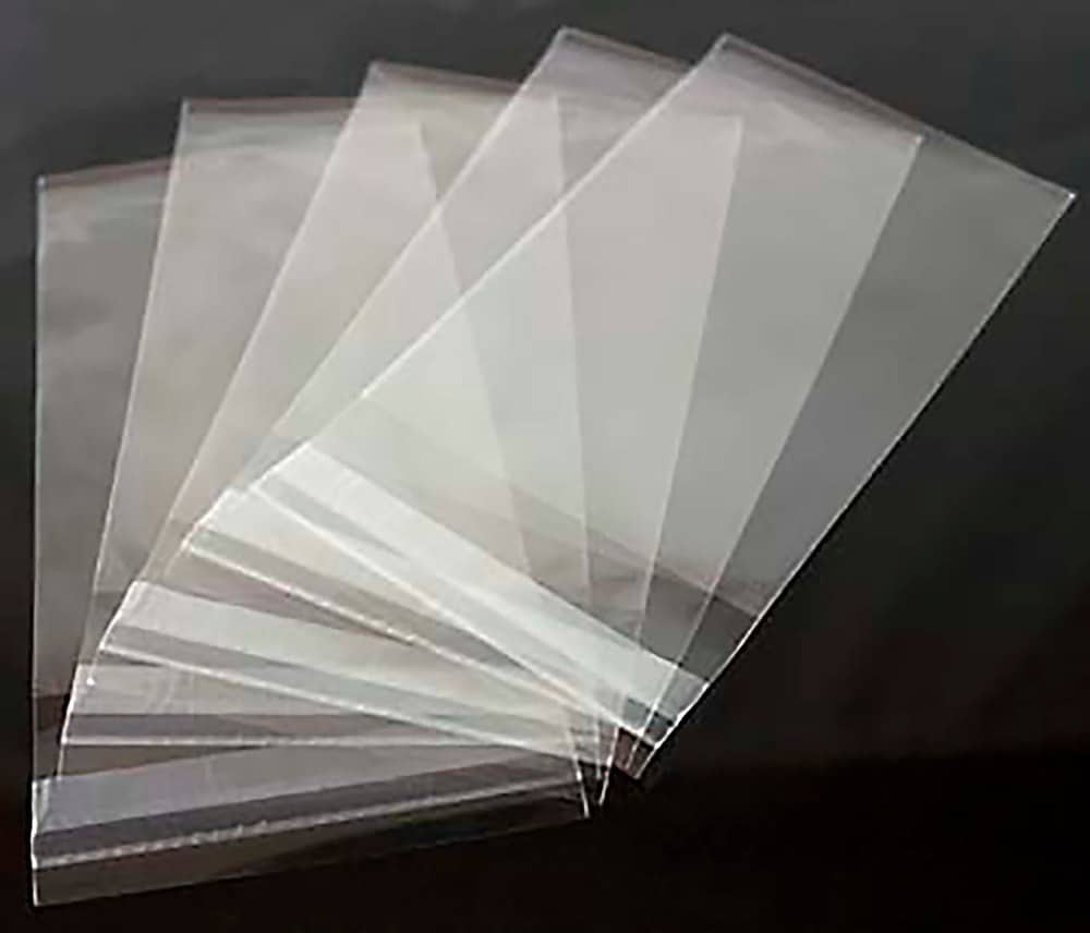 Clear Greeting Card Bags And Notecard Sleeves Packs Of 100 Pieces