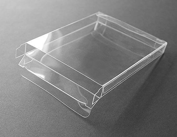 A2 clear plastic greeting card boxes set of 25 4 12 etsy image 0 m4hsunfo