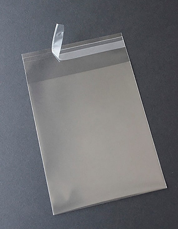 Clear square greeting card bags and notecard sleeves packs of etsy image 0 m4hsunfo