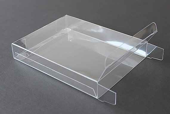 A7 clear plastic greeting cards boxes set of 25 5 38 etsy image 0 m4hsunfo