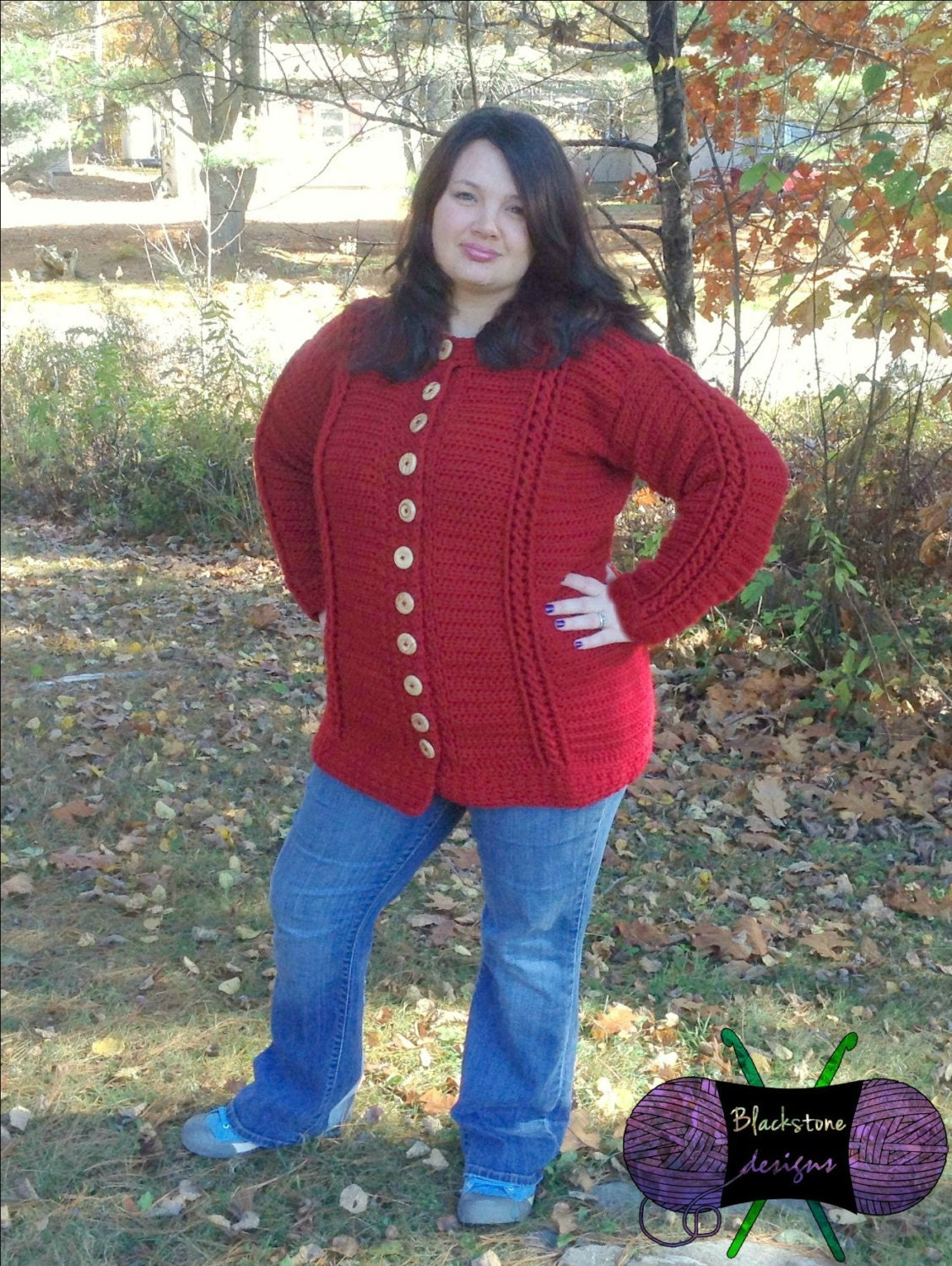 Chilly Cables Coatigan Adult Pdf Pattern Only Winter Etsy
