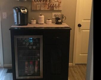 Coffee Bar Furniture Etsy